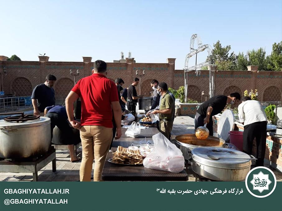 طبخ و توزیع غذا برای روز عید غدیر 1399